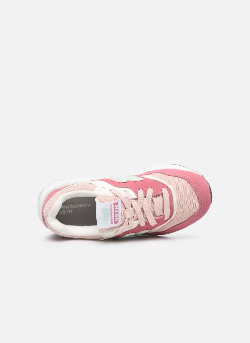 Baskets New Balance GR997 Rose vue gauche