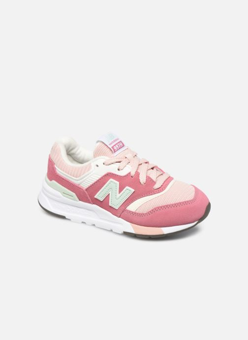 Baskets New Balance GR997 Rose vue détail/paire
