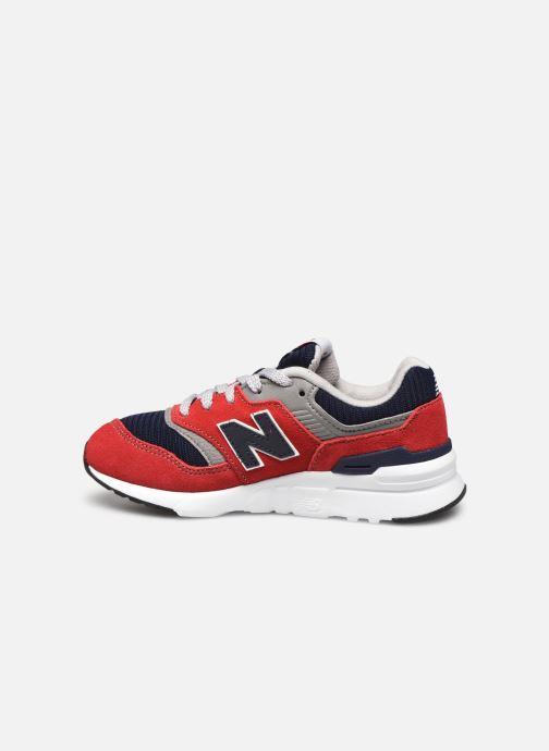 Sneaker New Balance GR997 rot ansicht von vorne