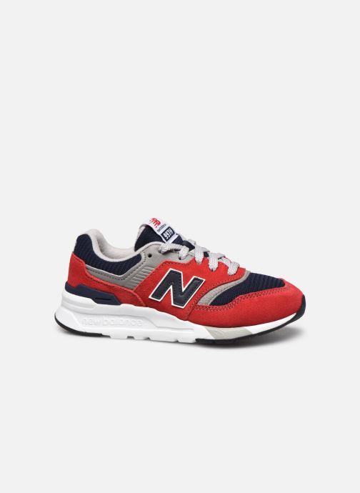 Sneaker New Balance GR997 rot ansicht von hinten