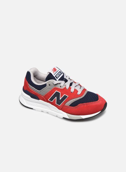 Trainers New Balance GR997 Red detailed view/ Pair view