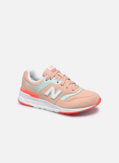 Sneaker New Balance GR997 rosa detaillierte ansicht/modell