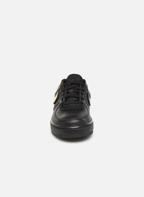 Baskets Nike Air Force 1 Lv8 3 (Gs) Noir vue portées chaussures