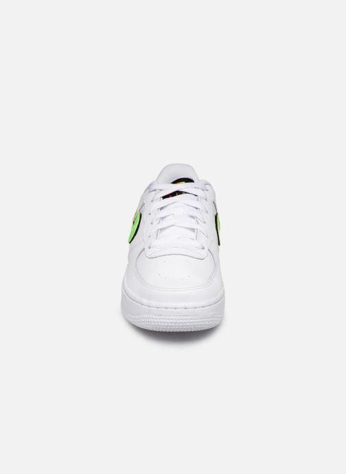 Nike Air Force 1 Lv8 3 (Gs) (Bianco) Sneakers chez Sarenza