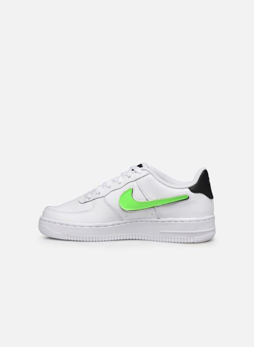 Baskets Nike Air Force 1 Lv8 3 (Gs) Blanc vue face