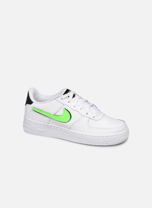 Baskets Nike Air Force 1 Lv8 3 (Gs) Blanc vue détail/paire
