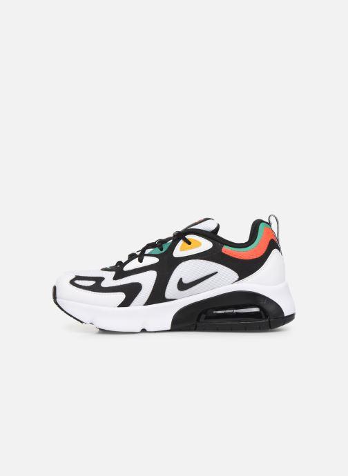 Sneakers Nike Nike Air Max 200 (Gs) Hvid se forfra