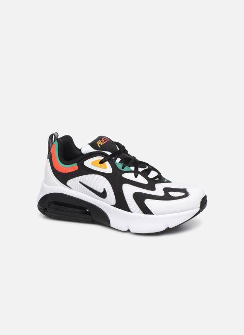 Baskets Nike Nike Air Max 200 (Gs) Blanc vue détail/paire
