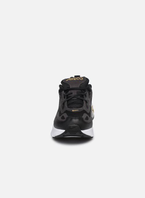 Baskets Nike Nike Air Max 200 (Gs) Noir vue portées chaussures