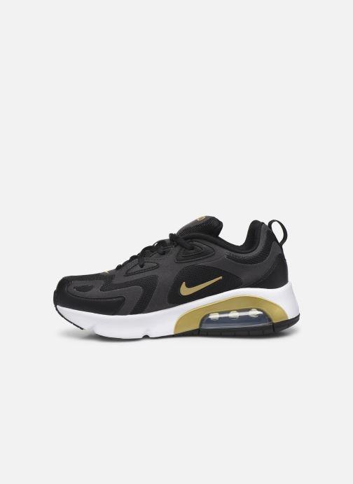 Sneakers Nike Nike Air Max 200 (Gs) Zwart voorkant