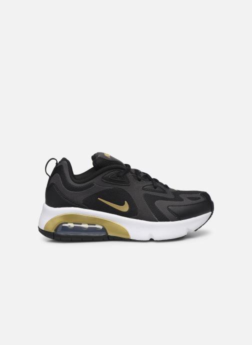 Sneakers Nike Nike Air Max 200 (Gs) Zwart achterkant