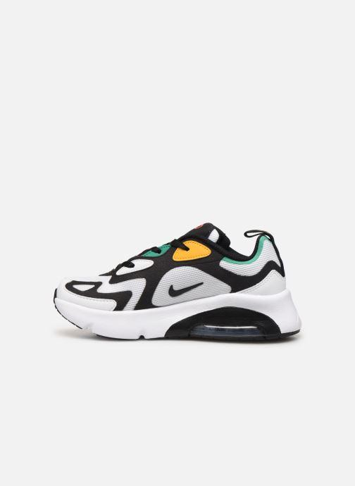 Sneaker Nike Nike Air Max 200 (Ps) weiß ansicht von vorne