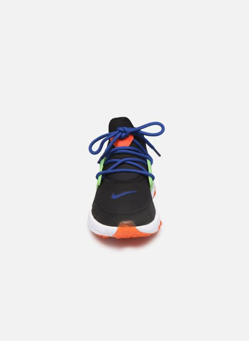 Baskets Nike Nike React Presto (Gs) Noir vue portées chaussures