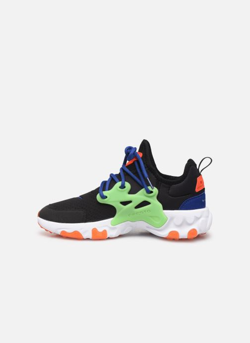Baskets Nike Nike React Presto (Gs) Noir vue face