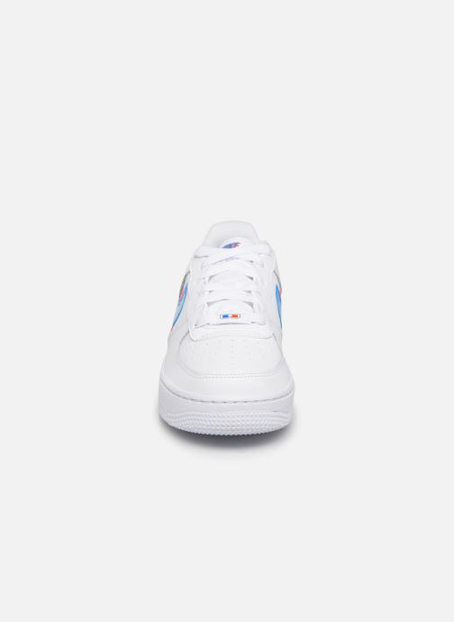 Baskets Nike Air Force 1 Lv8 Ksa (Gs) Blanc vue portées chaussures