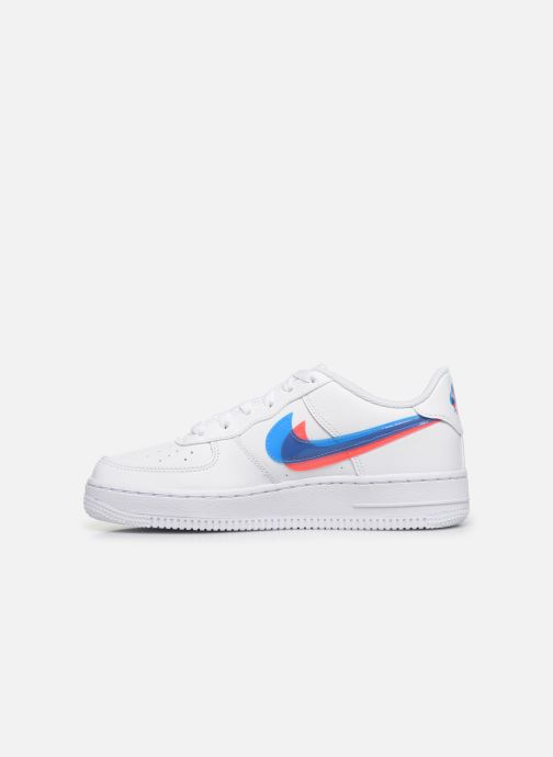 Nike Air Force 1 Lv8 Ksa (Gs) (Blanc) Baskets chez Sarenza