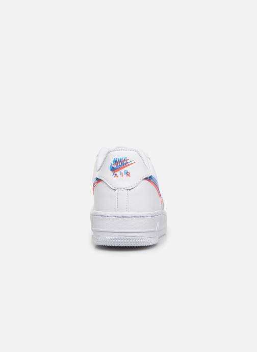Baskets Nike Air Force 1 Lv8 Ksa (Gs) Blanc vue droite
