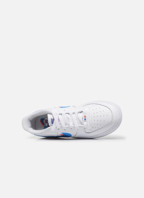 Baskets Nike Air Force 1 Lv8 Ksa (Gs) Blanc vue gauche