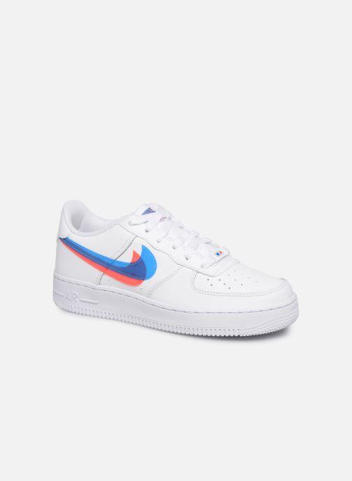 Baskets Nike Air Force 1 Lv8 Ksa (Gs) Blanc vue détail/paire