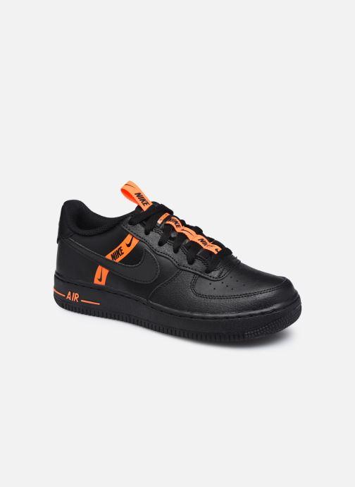Baskets Nike Air Force 1 Lv8 Ksa (Gs) Noir vue détail/paire
