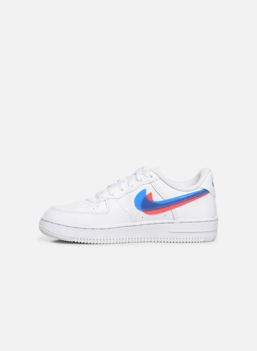 Sneaker Nike Nike Force 1 Lv8 Ksa (Ps) weiß ansicht von vorne