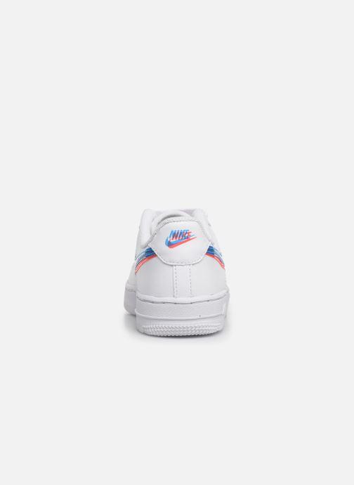 Sneaker Nike Nike Force 1 Lv8 Ksa (Ps) weiß ansicht von rechts