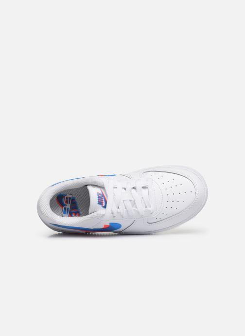 Sneaker Nike Nike Force 1 Lv8 Ksa (Ps) weiß ansicht von links