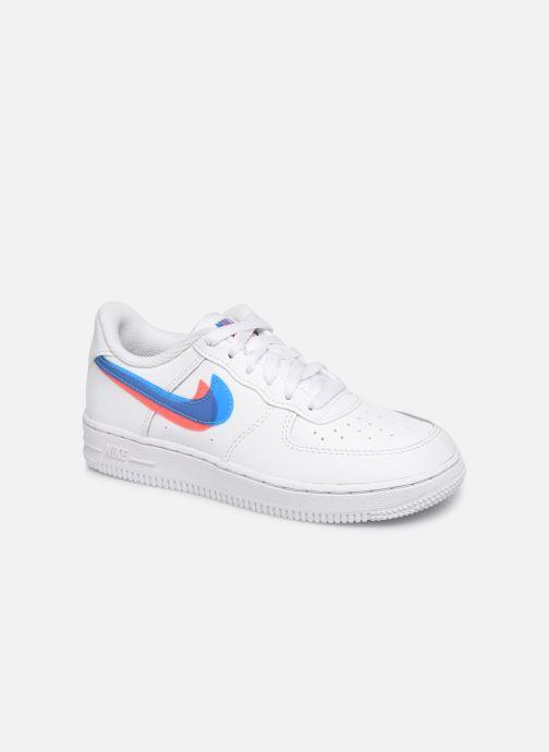 Baskets Nike Nike Force 1 Lv8 Ksa (Ps) Blanc vue détail/paire
