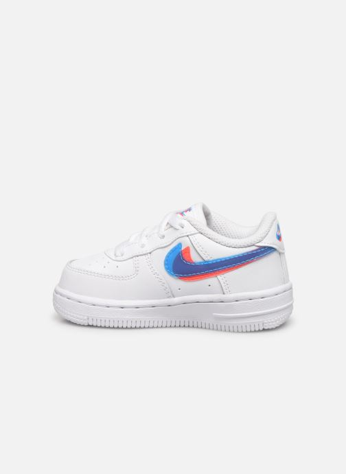 Baskets Nike Nike Force 1 Lv8 Ksa (Td) Blanc vue face