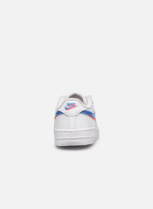 Sneakers Nike Nike Force 1 Lv8 Ksa (Td) Wit rechts