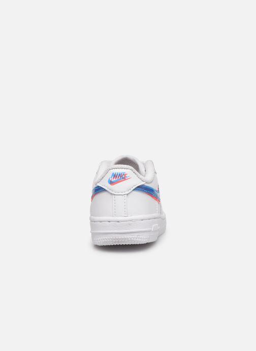 Baskets Nike Nike Force 1 Lv8 Ksa (Td) Blanc vue droite