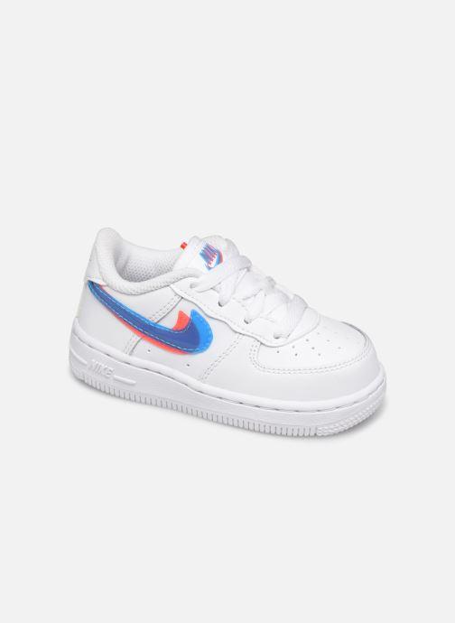 Baskets Nike Nike Force 1 Lv8 Ksa (Td) Blanc vue détail/paire