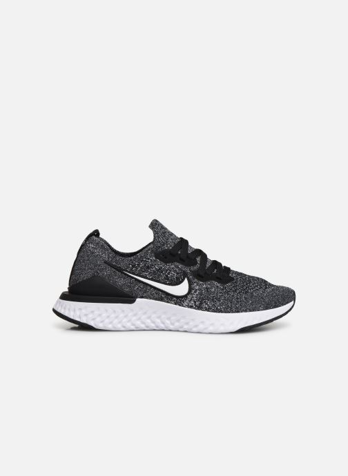 Sport shoes Nike Nike Epic React Flyknit 2 (Gs) Black back view