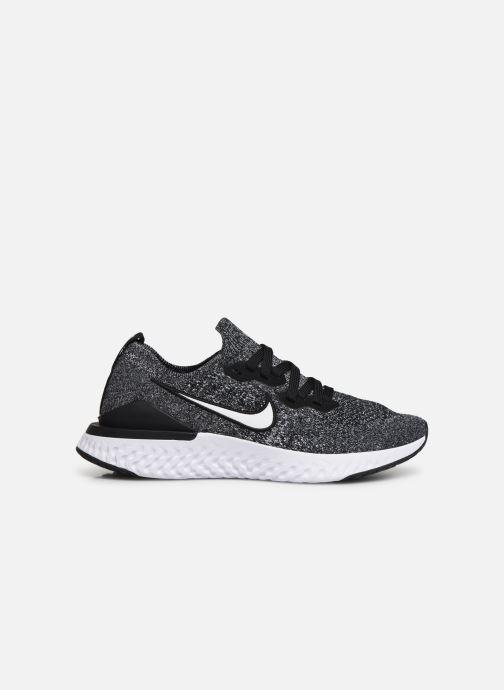 Chaussures de sport Nike Nike Epic React Flyknit 2 (Gs) Noir vue derrière