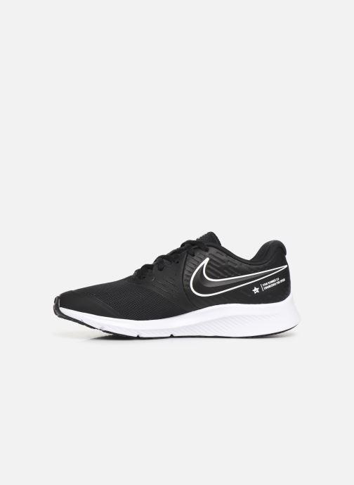Sportschuhe Nike Nike Star Runner 2 (Gs) schwarz ansicht von vorne