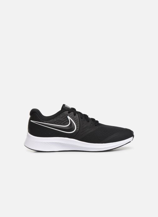 Sportschuhe Nike Nike Star Runner 2 (Gs) schwarz ansicht von hinten