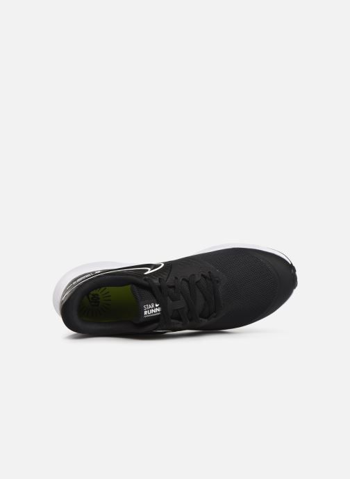 Sportschuhe Nike Nike Star Runner 2 (Gs) schwarz ansicht von links