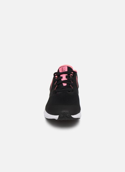 Chaussures de sport Nike Nike Star Runner 2 (Gs) Noir vue portées chaussures