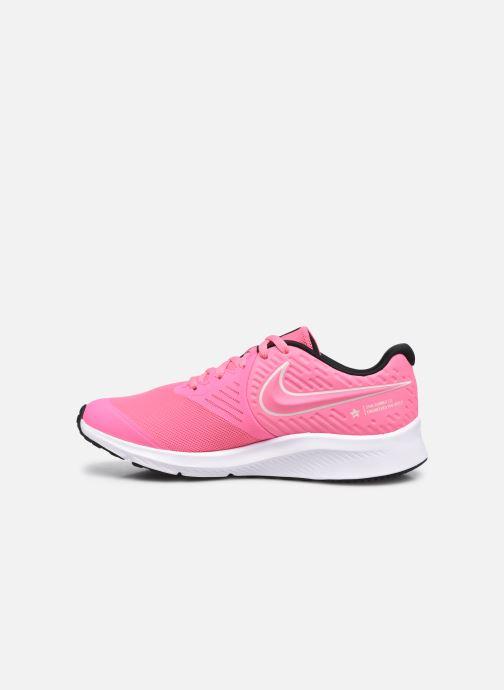 Sportschuhe Nike Nike Star Runner 2 (Gs) rosa ansicht von vorne