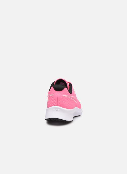 Sportschuhe Nike Nike Star Runner 2 (Gs) rosa ansicht von rechts