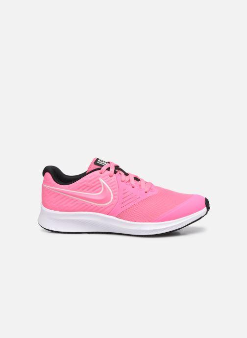 Sportschuhe Nike Nike Star Runner 2 (Gs) rosa ansicht von hinten