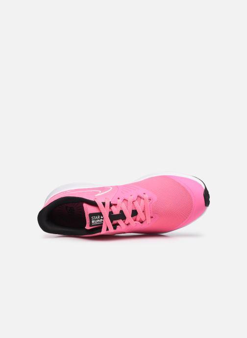Sportschuhe Nike Nike Star Runner 2 (Gs) rosa ansicht von links