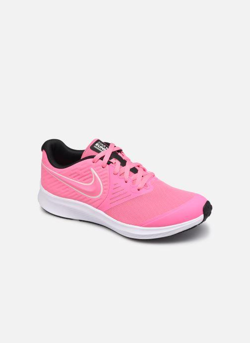Sportschuhe Nike Nike Star Runner 2 (Gs) rosa detaillierte ansicht/modell