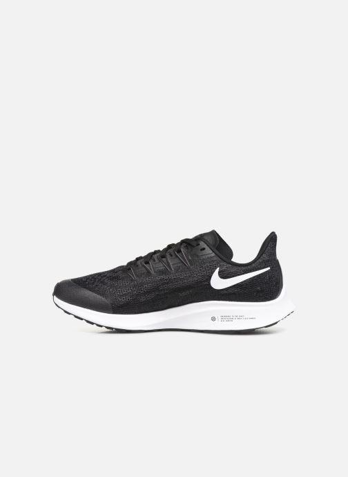 Scarpe sportive Nike Nike Air Zoom Pegasus 36 (Gs) Nero immagine frontale