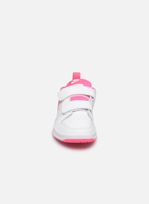 Baskets Nike Nike Pico 5 (Psv) Blanc vue portées chaussures