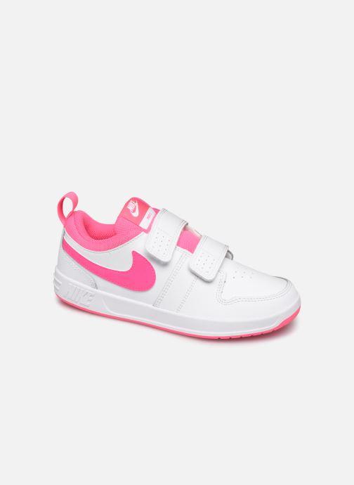 Baskets Nike Nike Pico 5 (Psv) Blanc vue détail/paire