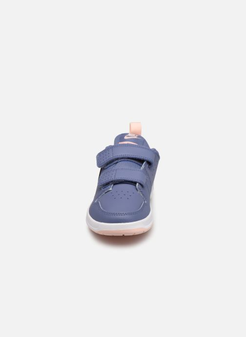 Baskets Nike Nike Pico 5 (Psv) Bleu vue portées chaussures