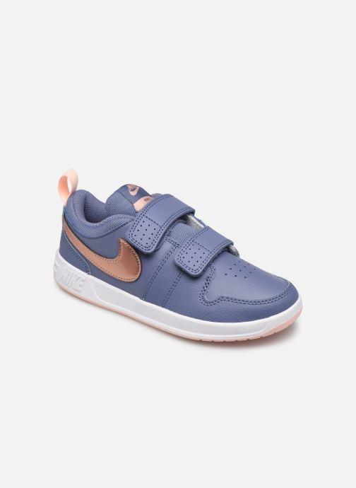 Baskets Nike Nike Pico 5 (Psv) Bleu vue détail/paire
