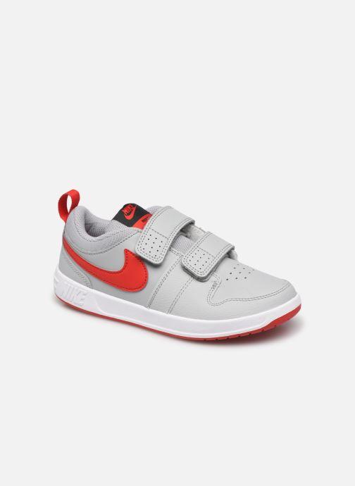 Baskets Nike Nike Pico 5 (Psv) Gris vue détail/paire