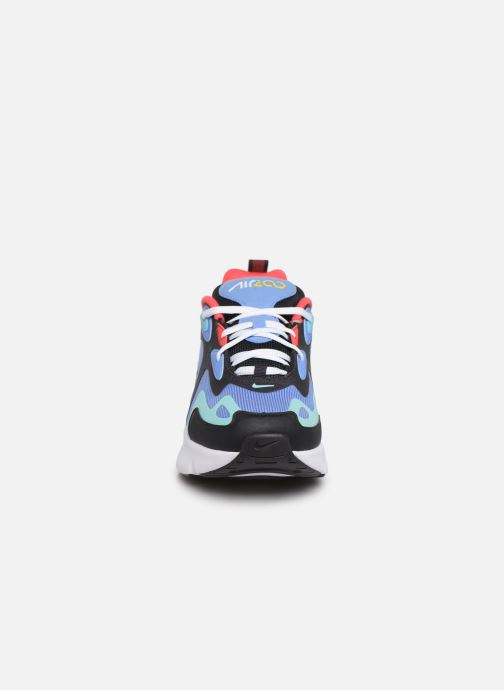 Baskets Nike Nike Air Max 200 (Gs) Bleu vue portées chaussures